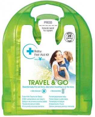 Wallaboo Baby First Aid Kit 'Travel and Go' (Green)