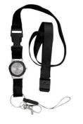 Nurse Integrated Lanyard Watch Black