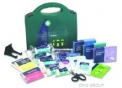 REL330 BS8599-1 Small Workplace Kit in Standard Green Aura Box - inc bracket 27.5cmH x 29cmW x 10cmD x 1