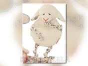 Käthe Kruse 89110 KBA Cherry Stone Cushion Lamb