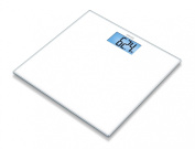 Sanitas SGS03 Pure White Glass Bathroom Scales