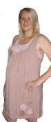 "Dusky Pink Maternity Dress ""Polly"" (Small"