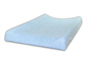 Terry Fitted Changing Mat Cover, To Fit Profiled Changing Mat 70x50 cm - BLUE