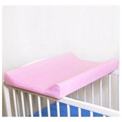 Terry Fitted Changing Mat Cover, To Fit Profiled Changing Mat 70x50 cm - PINK