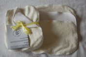 Easy Peasy Bamboo & Fleece Washable Baby Wipes PK10