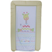 1Stopbabystore Genuine Giraffe Design Baby Changing Mat - Soft Touch.