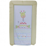 1Stopbabystore Genuine Giraffe Design Baby Changing Mat - Soft Touch.
