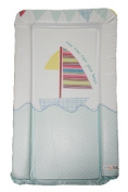 Boys Deluxe Designer PVC Change/Changing Mat - ROW ROW YOUR BOAT