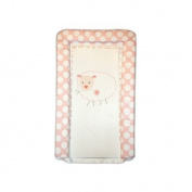 Baa Baa Black Sheep Baby GaGa Changing Mat in White and Pink