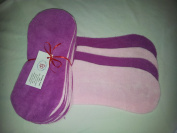 Easy Peasy Fleece Nappy Liners Pk 15 Mixed Pinks