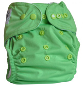 "Three Little Imps ""Premium Range"" Cloth Nappy (plus 2 inserts) - Single colour"