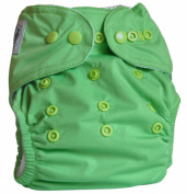 "Three Little Imps ""Premium Range"" Cloth Nappy (plus 2 inserts) - Single colour"