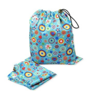 Patterned Cloth Nappy Wet Bags - Set of 3 - Little Boy / Unisex themes