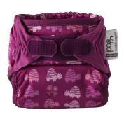 Close Pop-In + Pink Turtle Bamboo Single Nappy