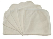 Nature Babies Bamboo Terry Nappies - Pack of 10.