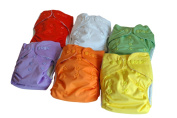 "Three Little Imps ""Premium Range"" Cloth Nappies (including 2 inserts per nappy) - Set of 12"