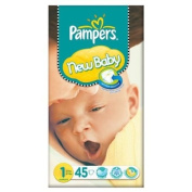 Pampers New Baby Size 1 (2-5kg) Essential Pack Newborn 3x45 per pack