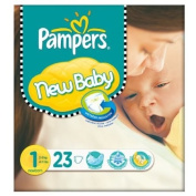 Pampers New Baby Size 1 (2-5kg) Carry Pack Newborn 6x23 per pack