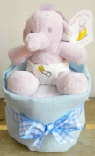 New Baby Boy Nappy Cup Cake