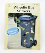 Wheelie Bin Stickers - Birds