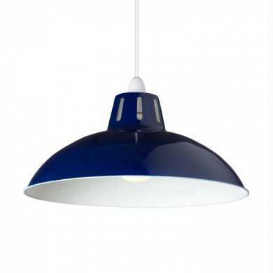 large modern cut out dome glossy metal ceiling light