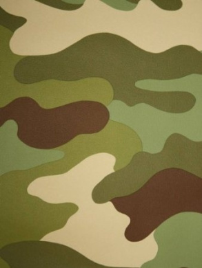 Camouflage Wallpaper 10.5m