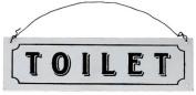 """Toilet"" Metal Sign"