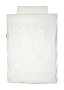 Taftan Stars Silver Duvet Cover Set 100 x 135cm for Cot