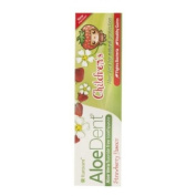 AloeDent Children's Strawberry Toothpaste - 50ml