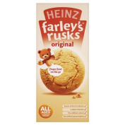 Heinz All Ages 4-6 Months Onwards Farley's Rusks Original 150g 6 x 9s