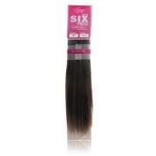 Evita 100% Human Hair Six Piece Clip In Extension 46cm Colour F2/4/27