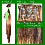 60cm clip in Remy human hair Extensions by Pro Extensions