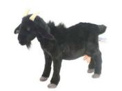 A Plush Soft Toy Black Goat by Hansa. 35cm.