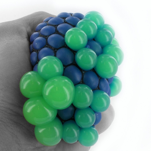 Rainbow Squishy Mesh Ball. Delivery is Free eBay