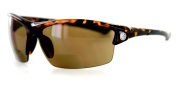 """""""STONE CREEK"""" men's Bifocal Sunglasses with low-profile, wrap-around sports design for youthful and active men who need magnification to read cell phones, maps, directions, etc. while they drive, work, read, travel or play sports in the sun."""