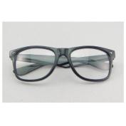 Generic Vintage Retro Fashion Cool Clear Lens Glasses Frame Wayfarer Nerd BingBing