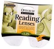 NEOPTX Optx 20/20 Stick-On Reading Lenses, +1.25