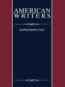 American Writers, Supplement XXV (American Writers