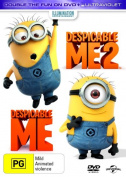 Despicable Me / Despicable Me 2 (DVD/UV)     [2 Discs] [Region 4]