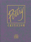 Poetry Criticism, Volume 158