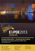 Design Education-Growing our Future, Proceedings of the 15th International Conference on Engineering and Product Design Education