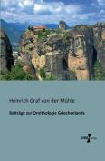 Beitrage Zur Ornithologie Griechenlands [GER]