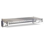 Alera WS3618SR Steel Wire Wall Shelf Rack, 36w x 18. 5d x 7. 5h, Silver