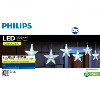 Philips Led String Lights : Philips 6ct Cool White LED Cascading Stars String Lights - Shop Online for Electronics in Hong Kong
