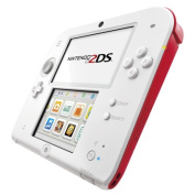 Nintendo 2DS Console White Red