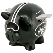 Forever Collectibles Nfl New York Jets Resin Large Thematic Piggy Bank