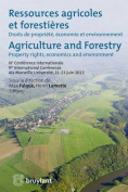 Ressources Agricoles et Forestieres / Agriculture and Forestry
