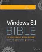 Windows 8.1 Bible (Bible)