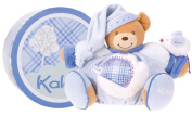 Kaloo Blue Chubby Bear with Mouse - Large