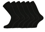 12 PAIRS Mens Cotton Rich Loose Top Ultimate Non Elastic Socks Assorted Colours 80% cotton, 20% other fibres